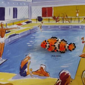Broche poisson Nemo