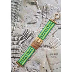 Manchette égyptienne verte