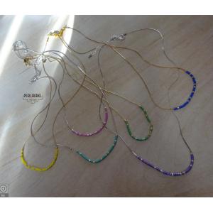 Colliers chaîne serpentine