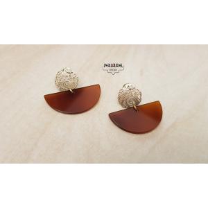 Boucles d'oreilles Art Deco